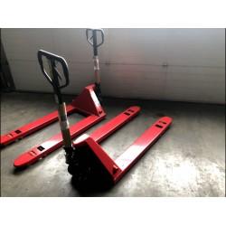 Handpalletwagen tbv kisten